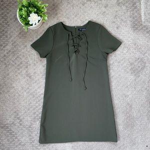 Olive Green Mini Dress!